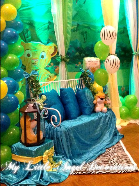 King Of The Jungle Baby Shower Party Ideas | Photo 5 Of 7