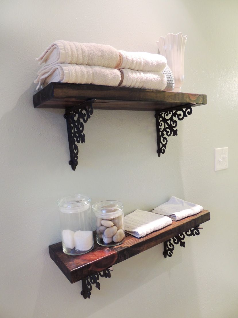Diy Floating Shelves Bathroom How To Build
