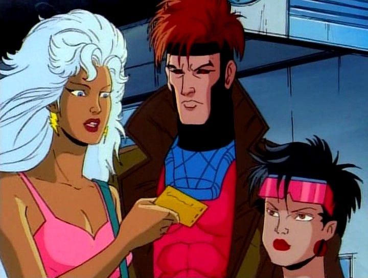 Image Gambit From The X Men Animated Series X Men Men Tv Wolverine Xmen