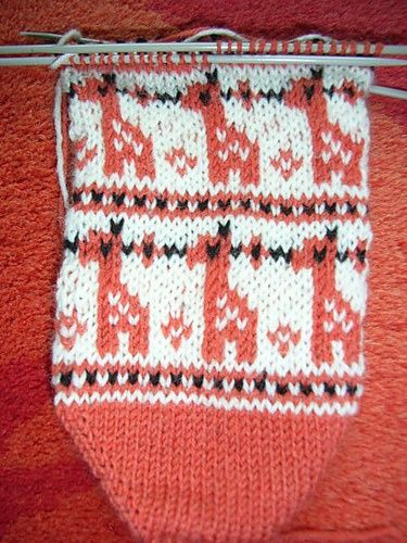 A beginner fair isle pattern for anyone who's interested...I could ...