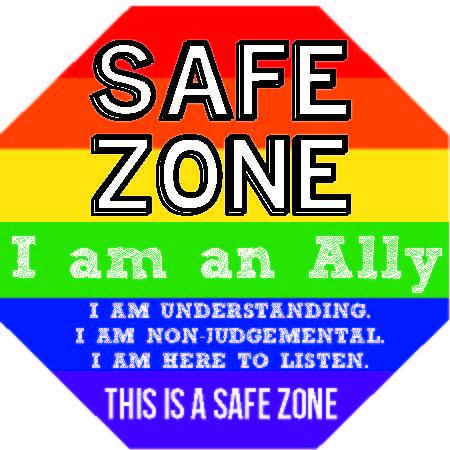 Image result for lgbt safe zone symbol