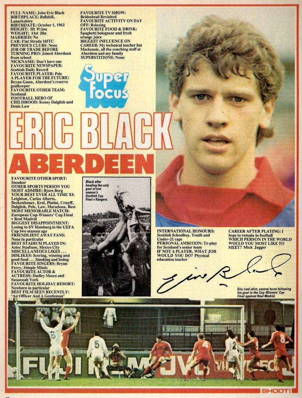 Profile Eric Black Aberdeen Eric Black Aberdeen Eric