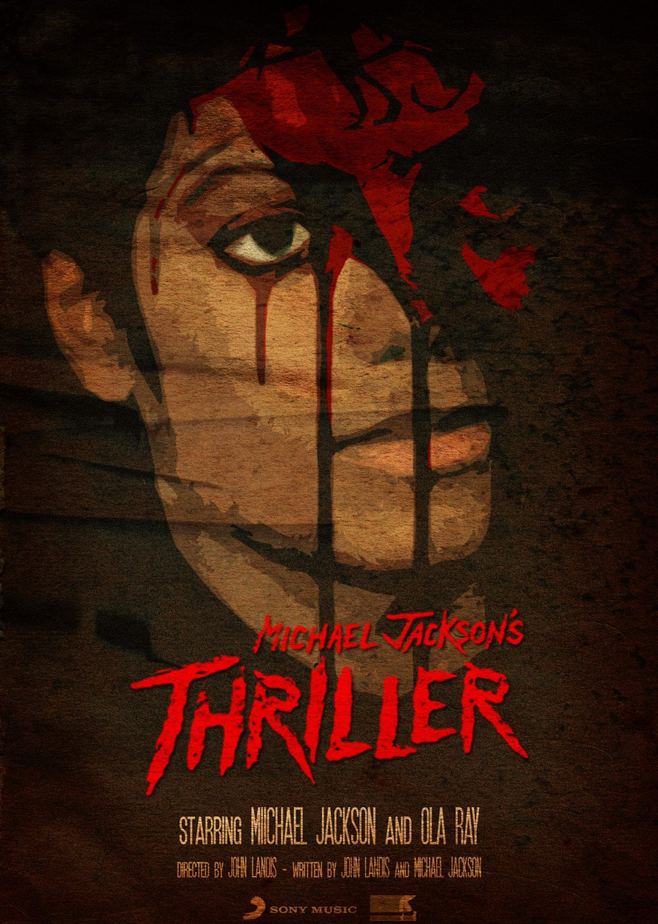 Michael Jackson S Thriller 1982 Hd Wallpaper From Gallsource Com