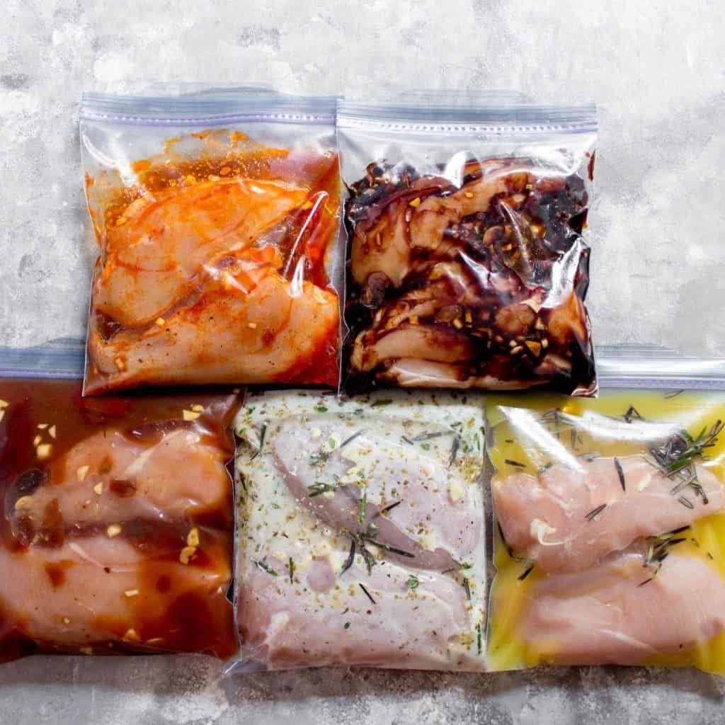 5 Easy Chicken Marinade