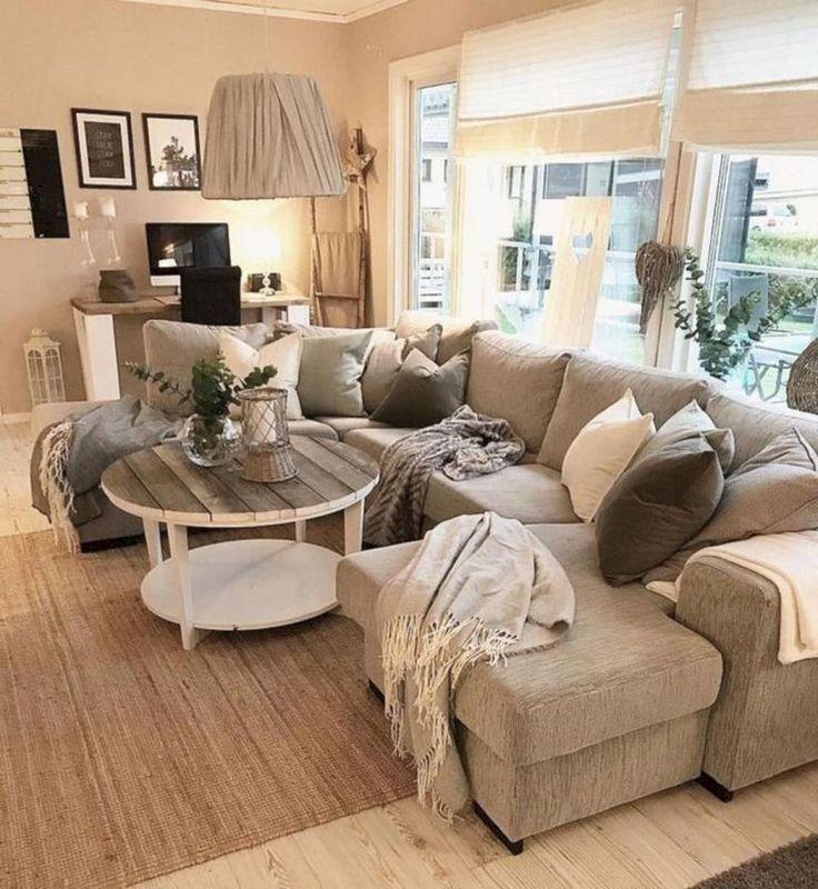 Einfache Bauernhaus Wohnzimmermöbel | Wohnzimmer gemütlich ...