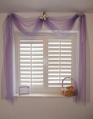 Tulle Curtains Cute For A Little Girls Room