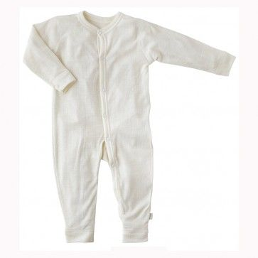 86d584017 Joha Merino Wool Pyjamas Sleepsuit with fold-over foot covers | Baby ...