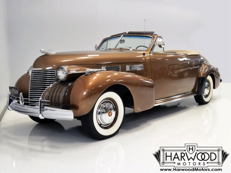 Check out this Stunning Fully Restored Turn-Key 1940 Cadillac Convertible Coupe