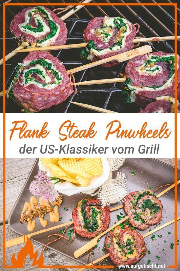 Bild von Gefüllte Flank Steak Pinwheels [Top Rezept fü