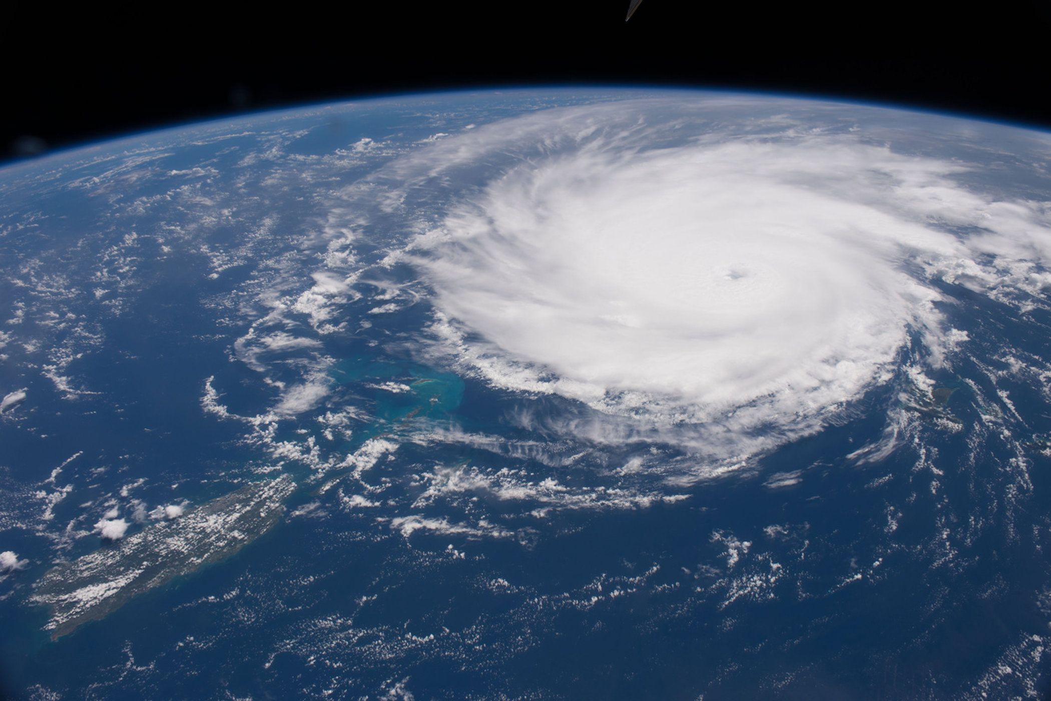 Hurricane Jose At The Caribbean Earth From Space Space Photos Earth