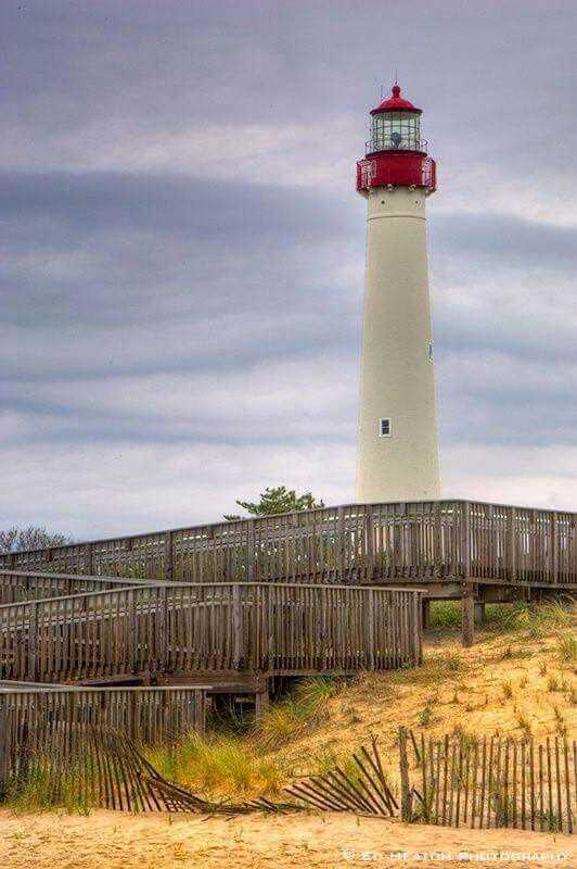 Cape May Lighthouse, New Jersey - USA (с изображениями ...