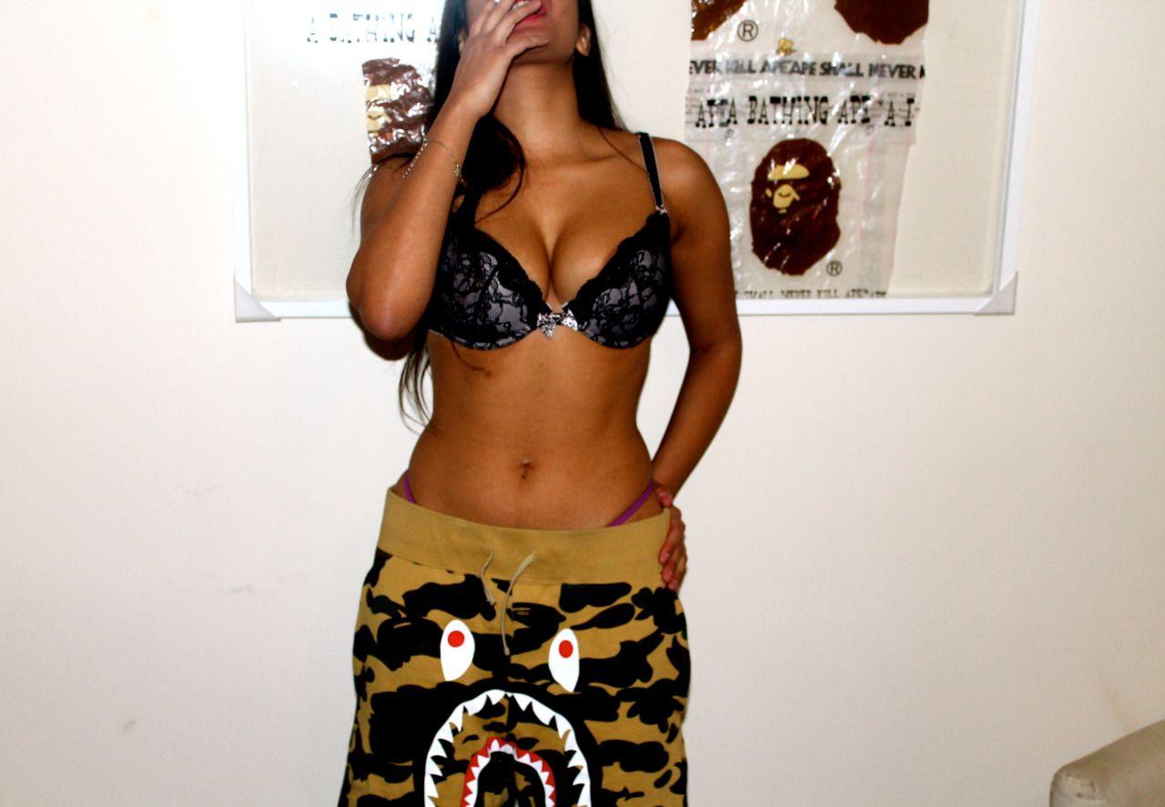 bape shorts girls