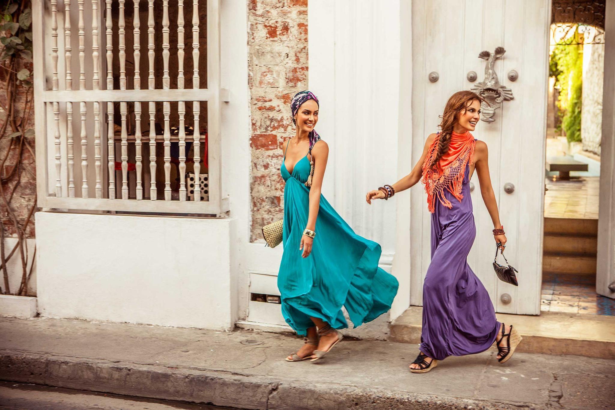 631df49acdf5 Vestidos largos para recorrer el centro histórico - Onda de Mar ...
