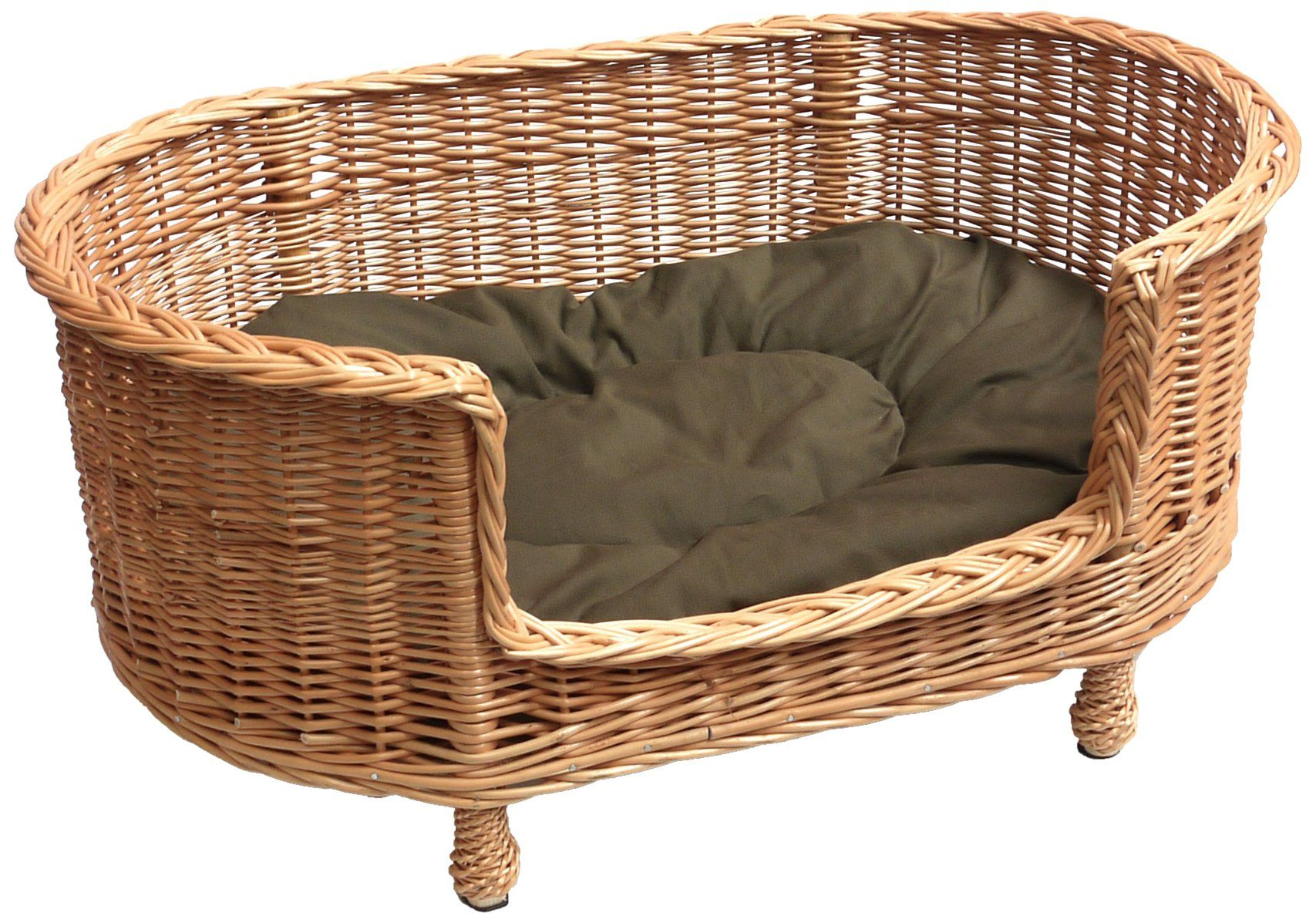 Raised Dog Beds for Large Dogs UK (With images) Wicker