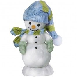 "Precious Moments: ""All Bundled Up For The Holidays"" Bisque Porcelain Figurine"