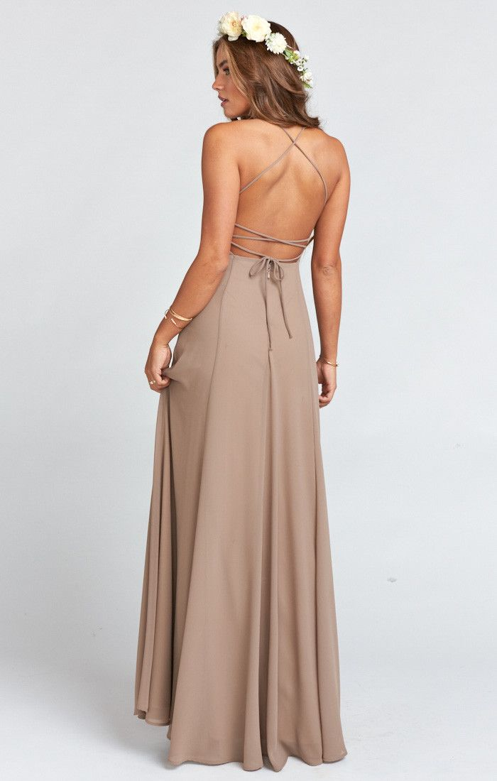 Godshaw Goddess Gown ~ Dune Chiffon | Dune, Gowns and Bridal parties