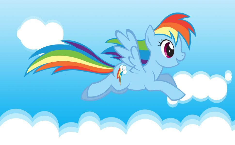 My Little Pony Rainbow Dash Hd Wallpaper