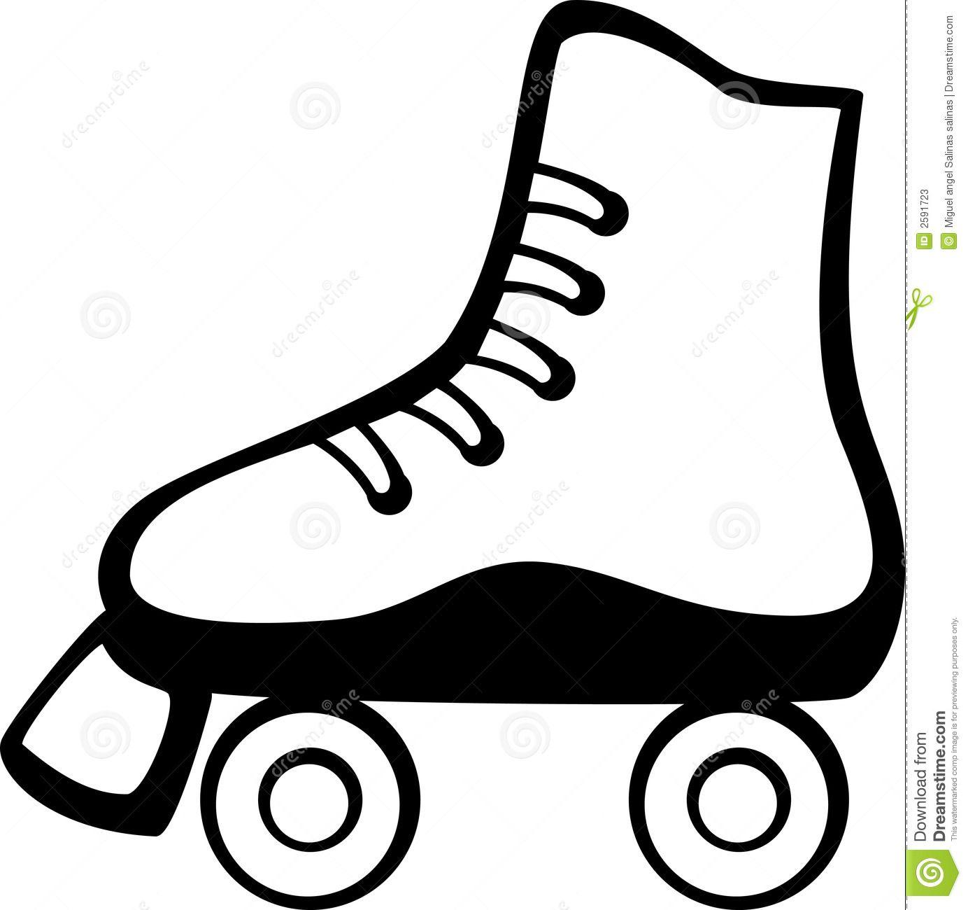 Roller Skate Vector Illustration Vector Illustration Of A Roller Skate Sponsored Advertisement Ad Roller Skating Party Roller Skating Roller Skate Cake