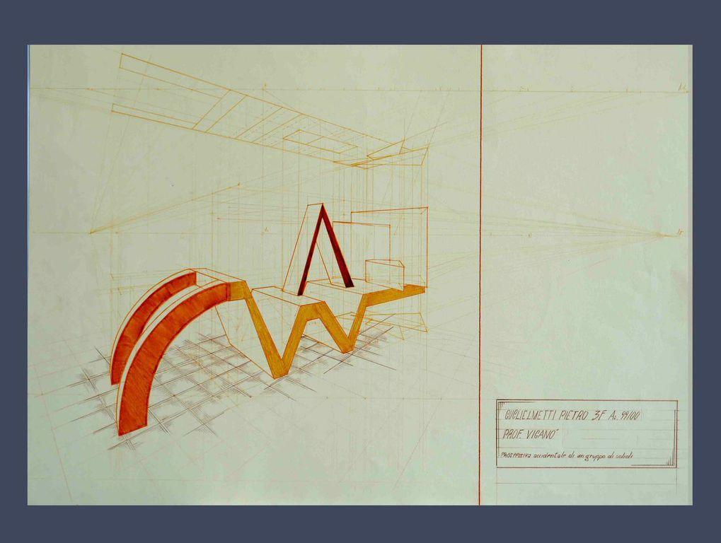 Dropbox - cartella mista 2. Ex Istituto d'Arte Fausto Melotti di Cantù . Prospettiva accidentale.