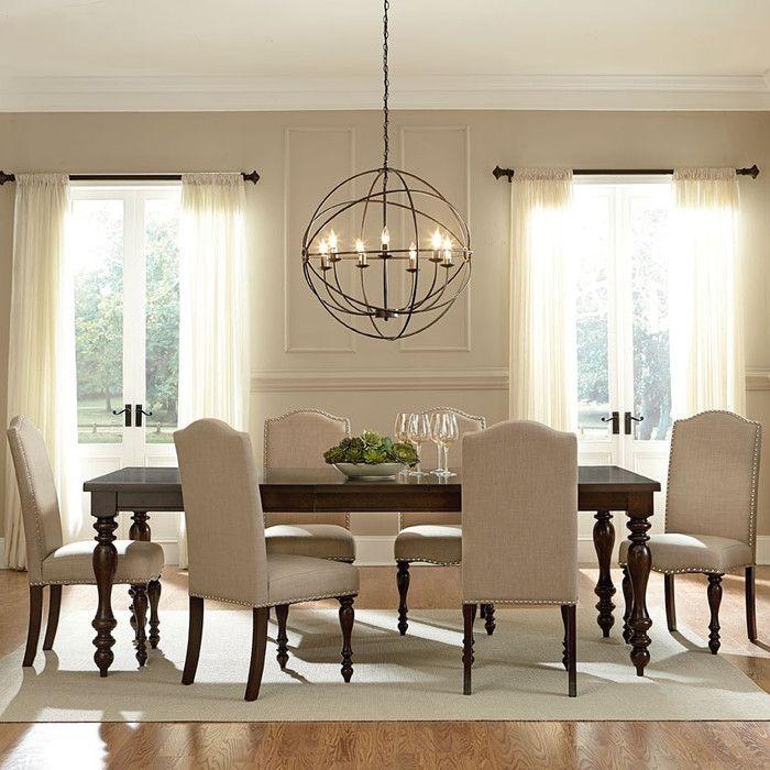 7 Piece Alisha Dining Table Set Joss Main Stylish Dining