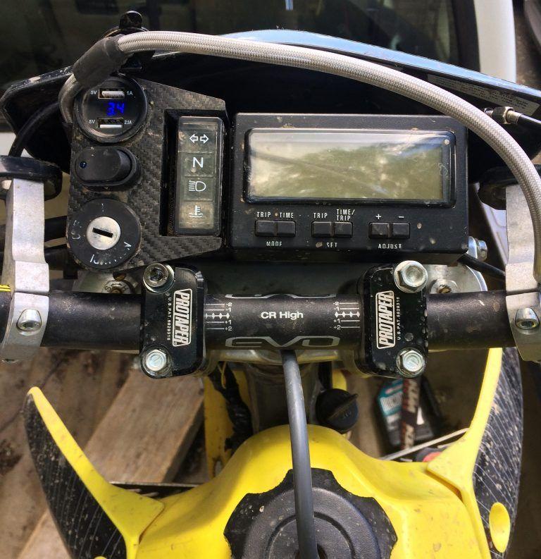 moto dash for trail tech dual sport drz400 in 2020 Dual