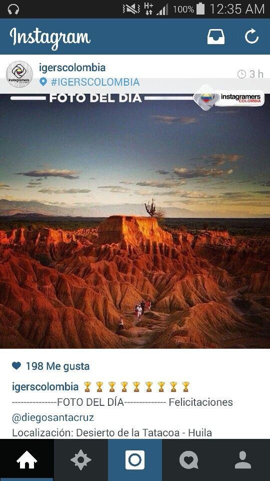 Foto de @diegosantacruz de el Desierto de la Tatacoa en #Huila #Colombia #enmicolombia #orgullocolombiano #turistic Tomada de @igrscolombia en @Instagram