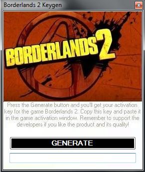 borderlands 2 steam key generator no survey
