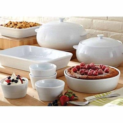 Lagostina Bianco Ceramic Bakeware With Images Ceramic Bakeware
