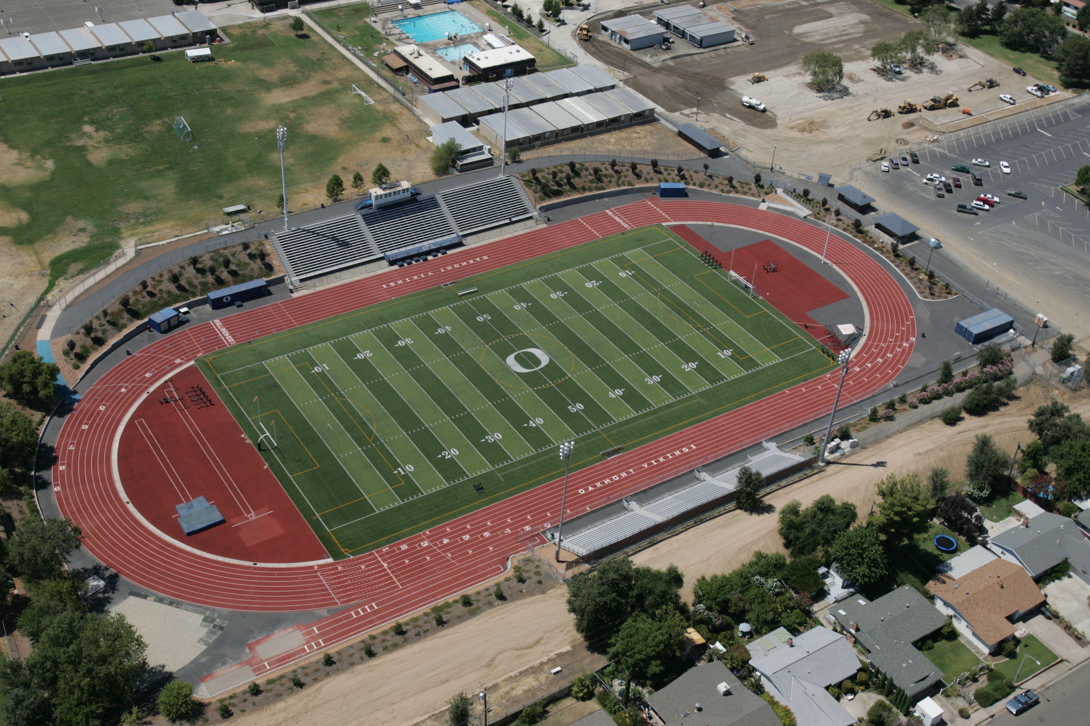 Oakmont High School Track & Field Boy senior portraits