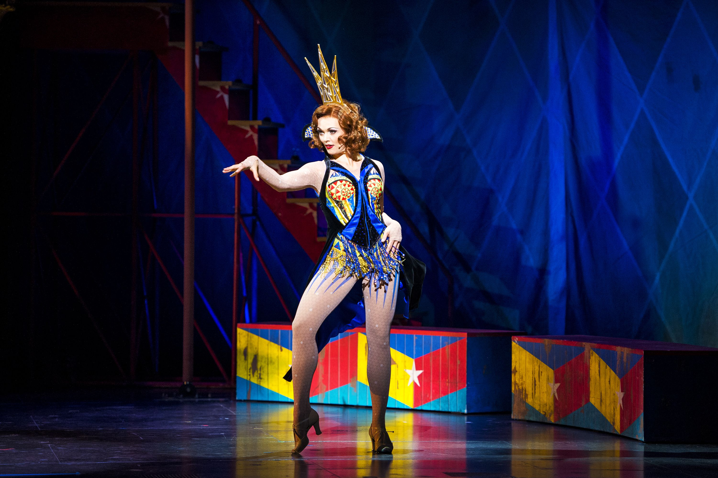 Sabrina Harper As Fastrada In The National Tour Of Pippin Credit Terry Shapiro Theatre Reviews Bob Fosse Musicals