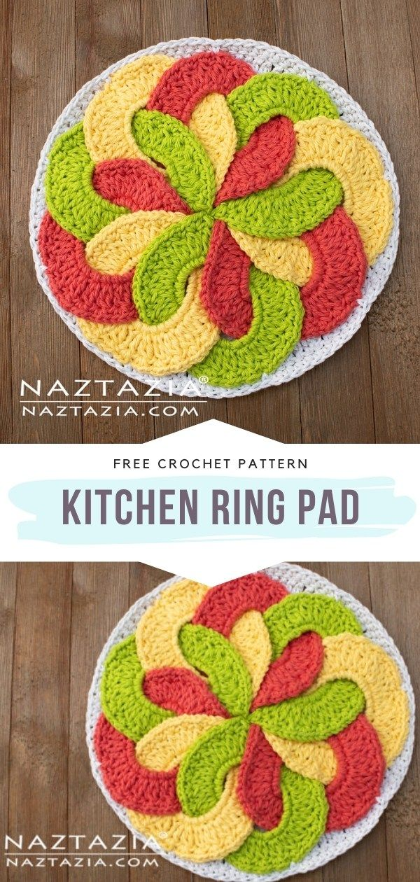 Photo of How to Crochet Kitchen Ring Pad