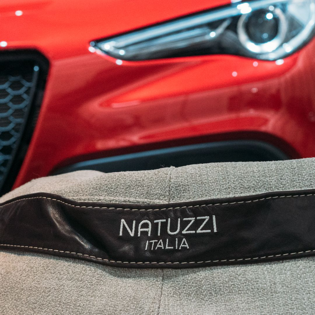 Natuzzi Italia And Alfa Romeo Together For The Launch Of