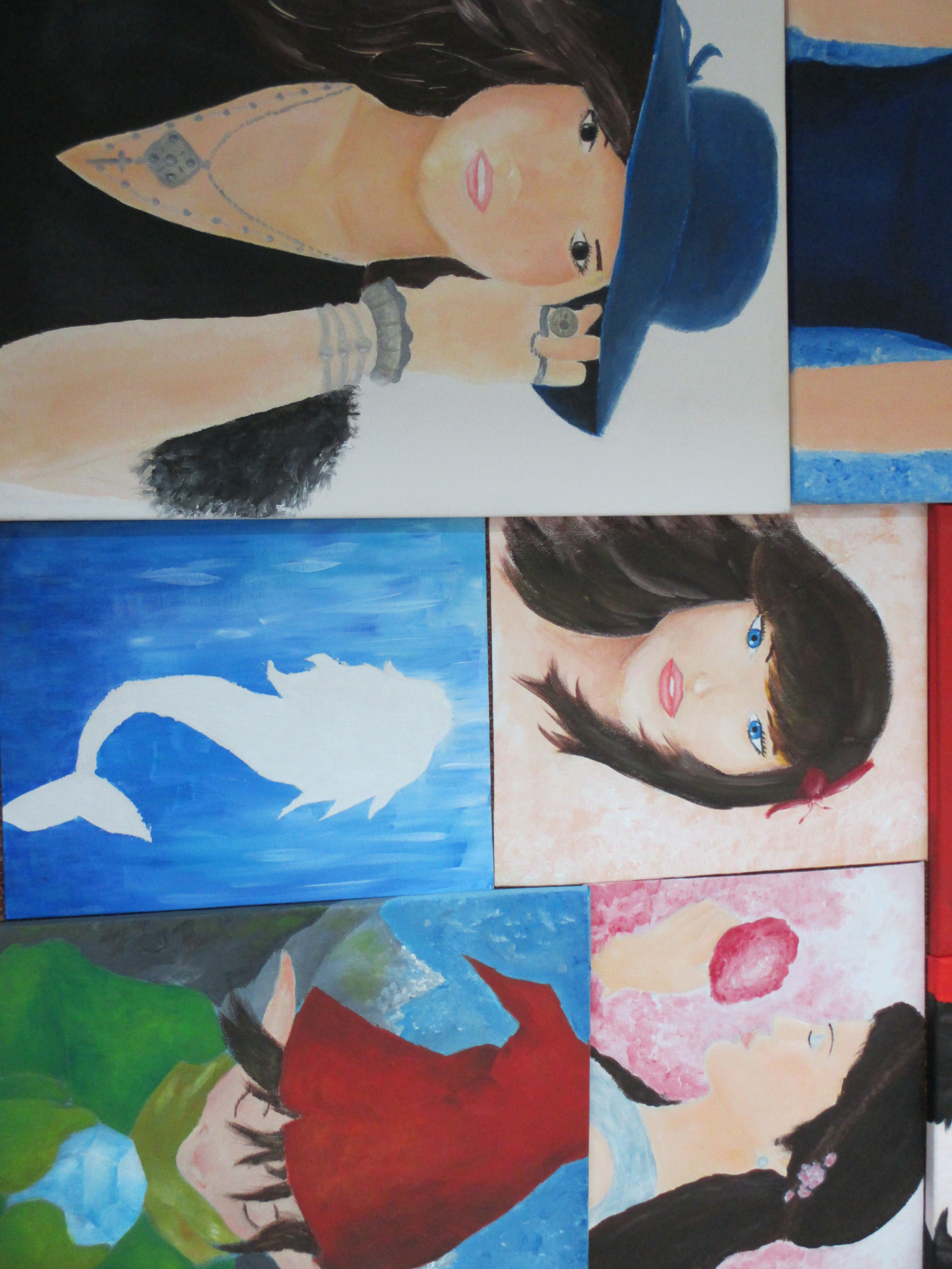 Some paintings I made