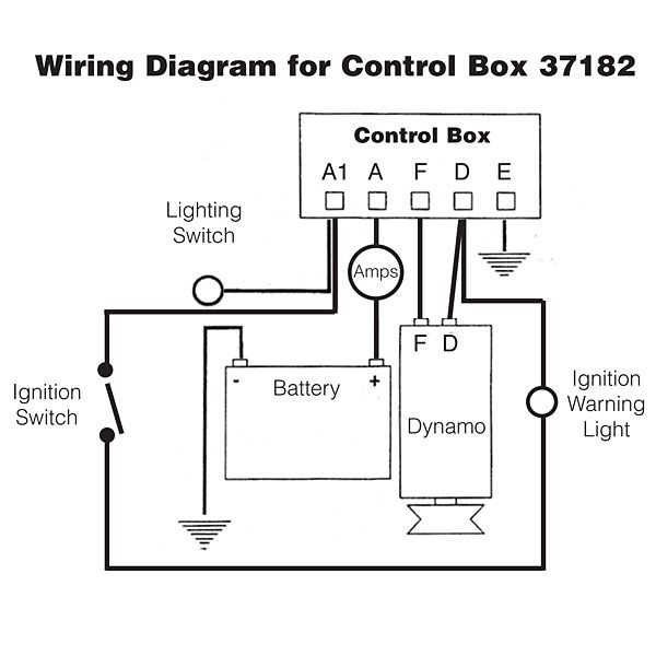 Dynamo Regulator Control Box Type Rb106