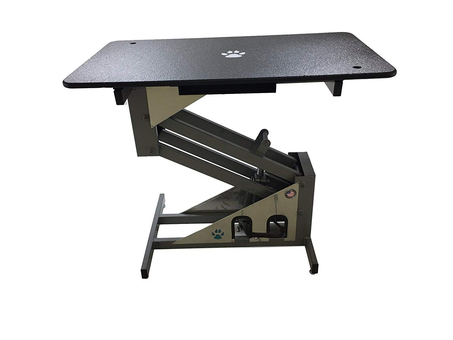 Groomer S Best Grooming Table For Pets For More Information Visit Image Link This Is An Affiliate Link In 2020 Shop Stool Groomer Sit Stand Workstation
