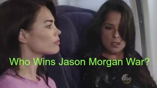 General Hospital Gh Spoilers Sam And Liz Battle For Jason Gets Vicious Who Will Win General Hospital Soap Opera Spoilers Hollywood Celebrities