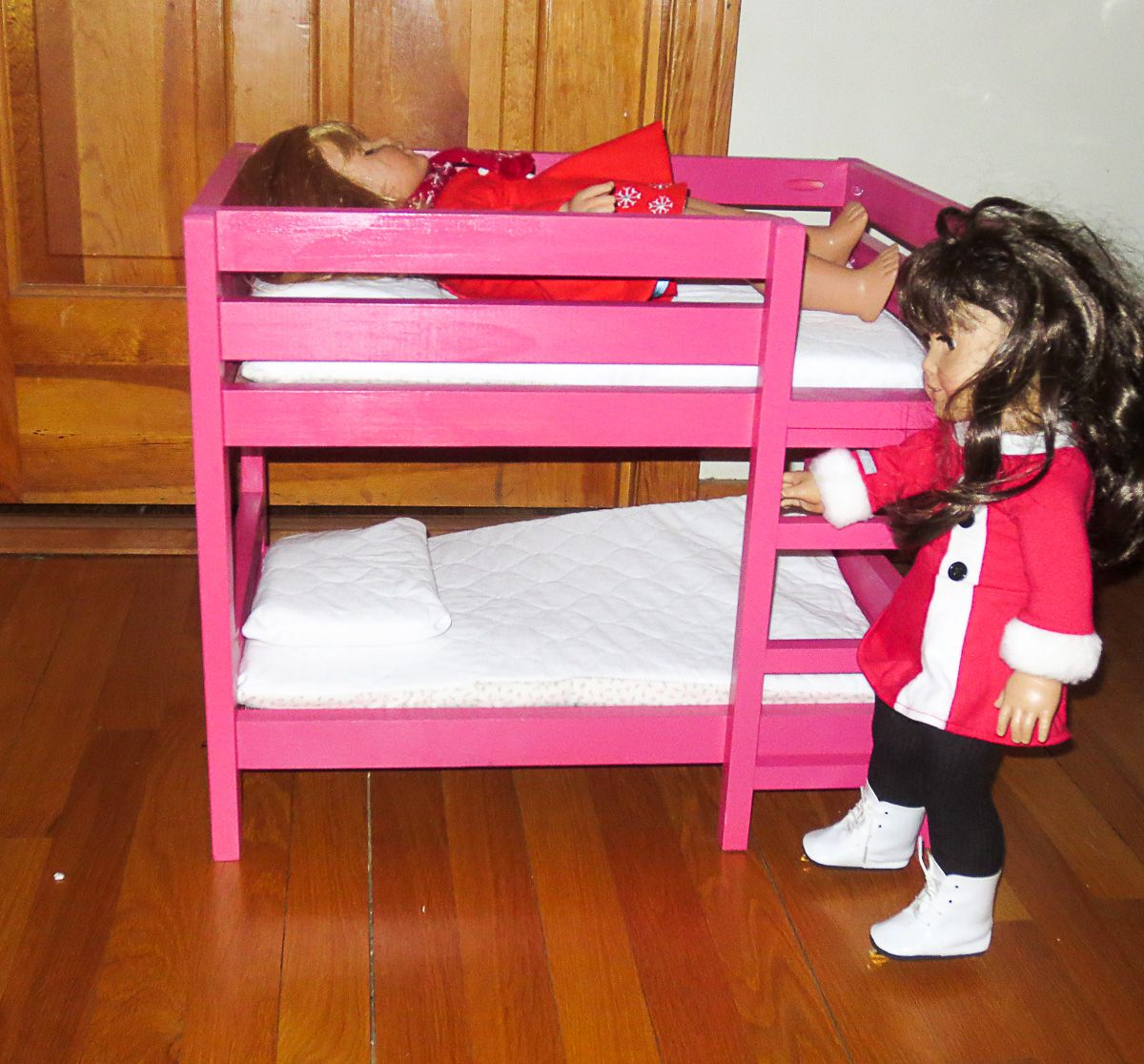 American Doll Bunk Bed Dimensions