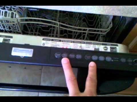 Kenmore Elite Dishwasher Blinking Light Control Board Fix It It