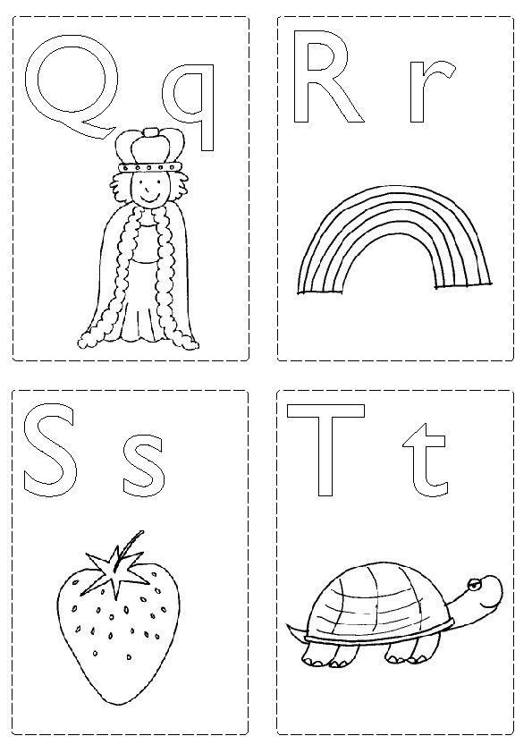 Q T Jpg 595 842 Abc Flashcards Abc Coloring Pages Abc Flashcards Printable
