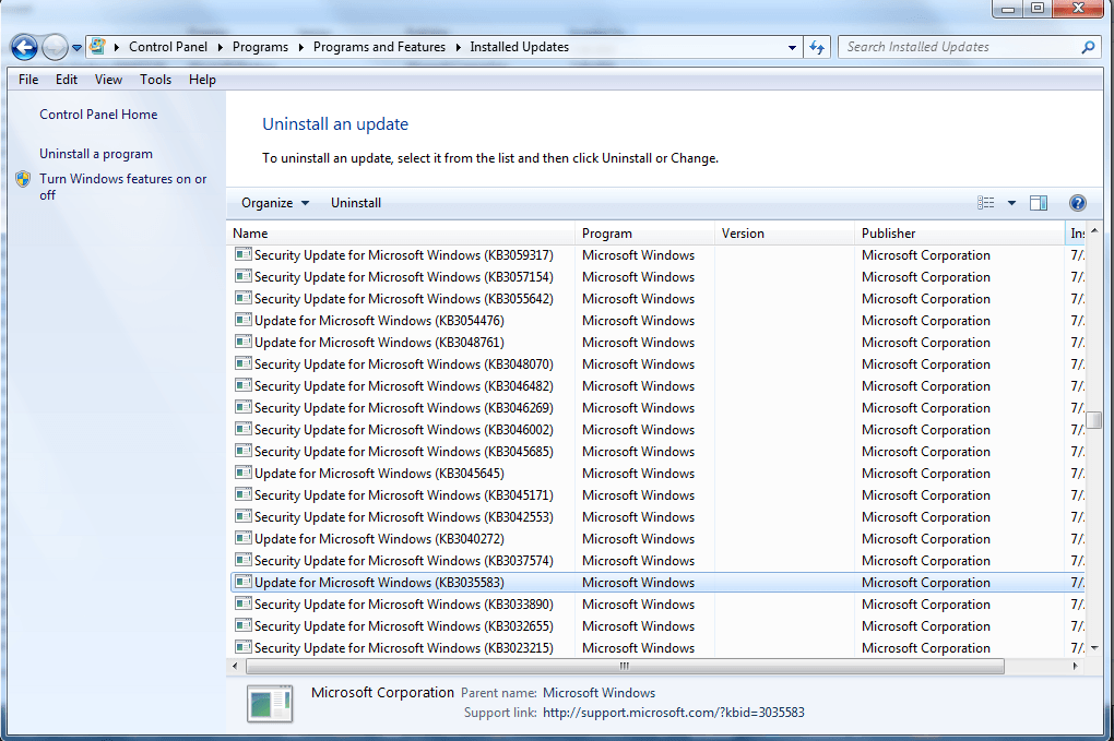 How to fix corrupted Windows Update files with