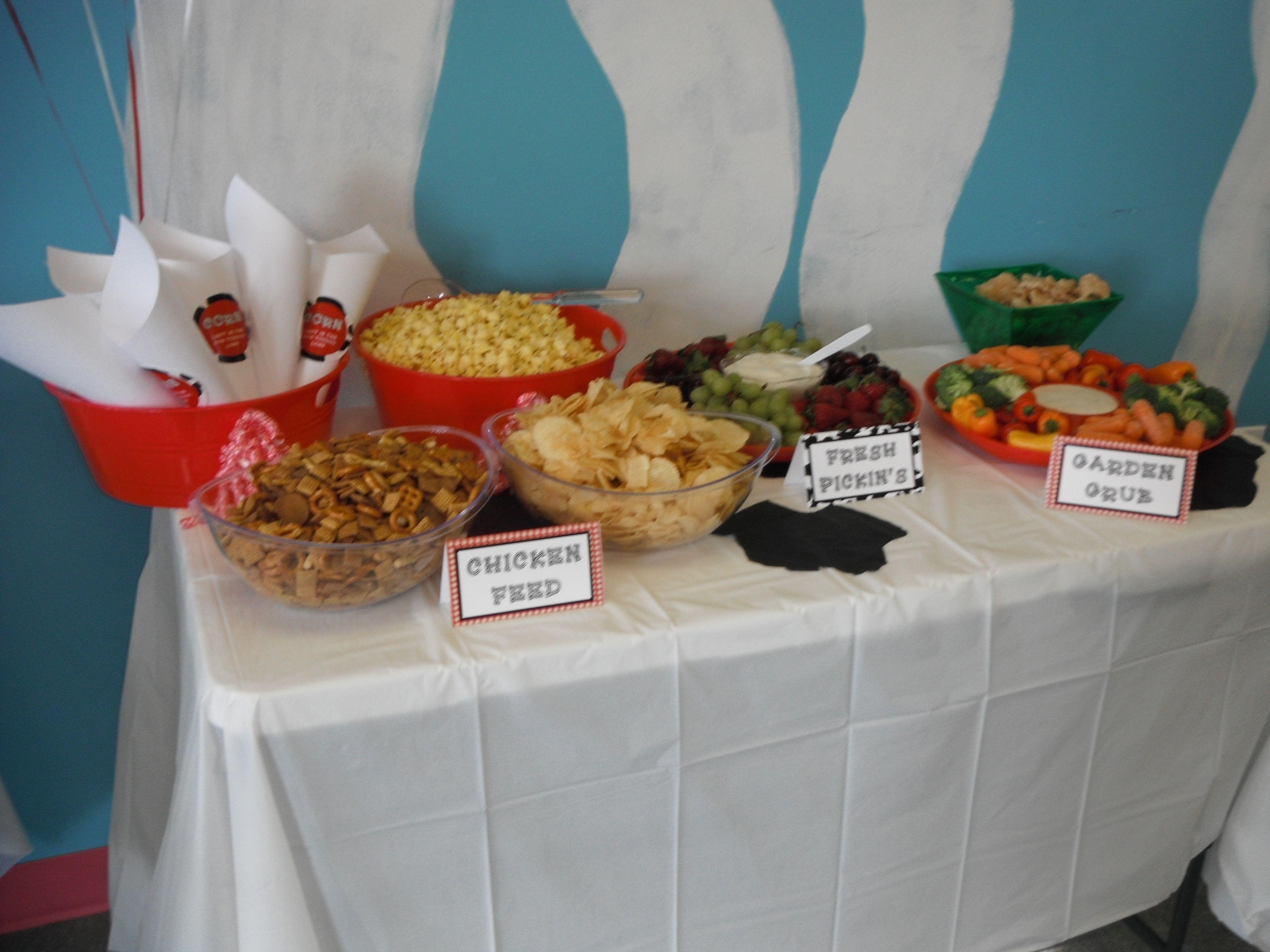 Farm Party Themed Food