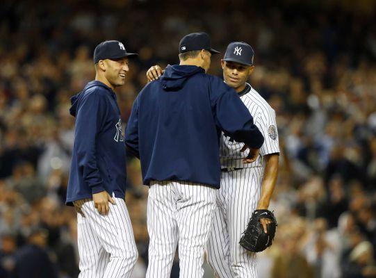 Mariano Rivera gets grand send-off in Yankee Stadium finale