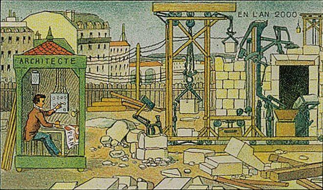 Futuro-retrô - a arte de Villemard que em 1910 tentava prever o ano 2000 http://www.bluebus.com.br/futuro-retro-arte-de-villemard-em-1910-que-retrata-o-ano-2000/