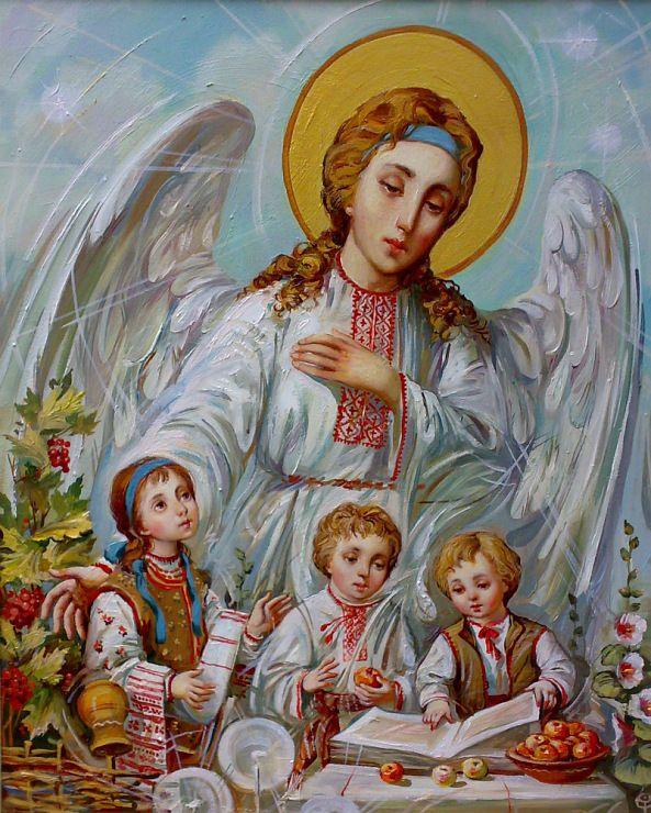 Ukrainian angel.