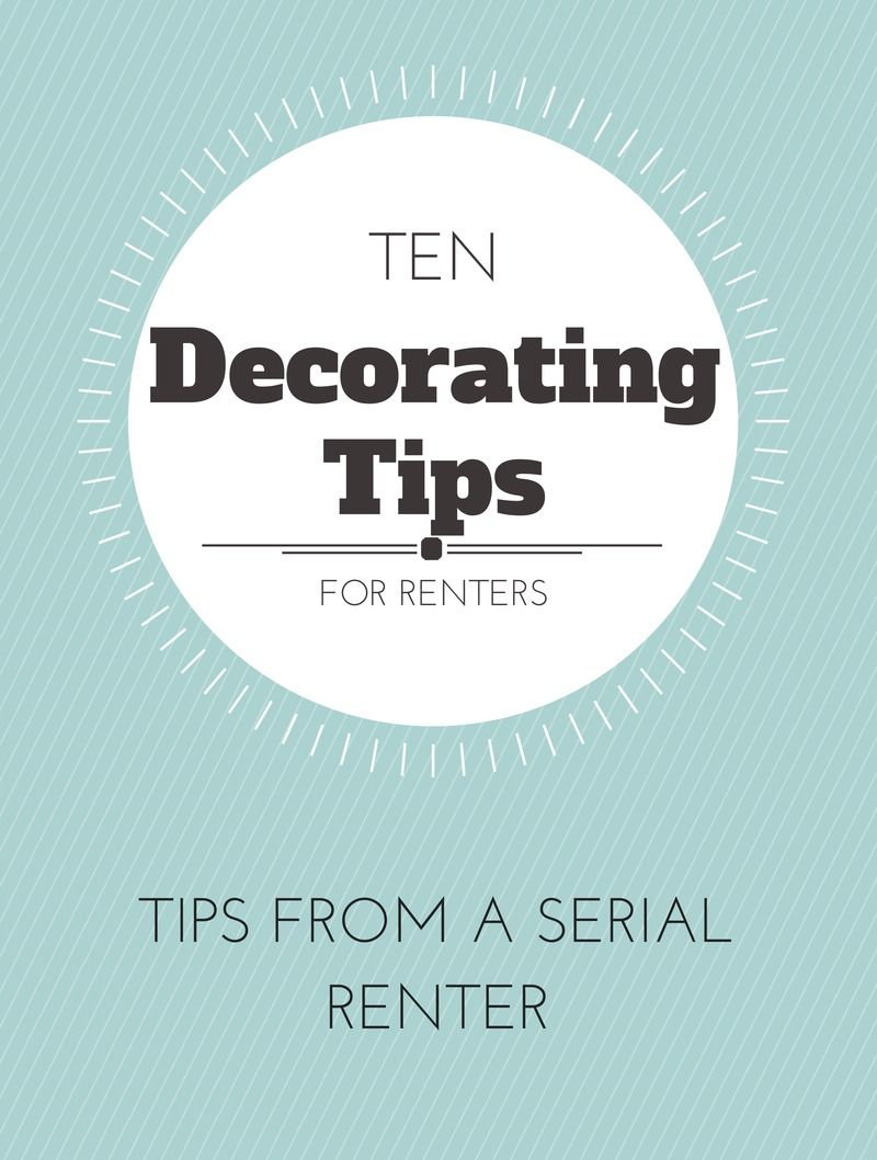 Apartment Decorating Ideas - How to decorate a rental like it\'s your ...