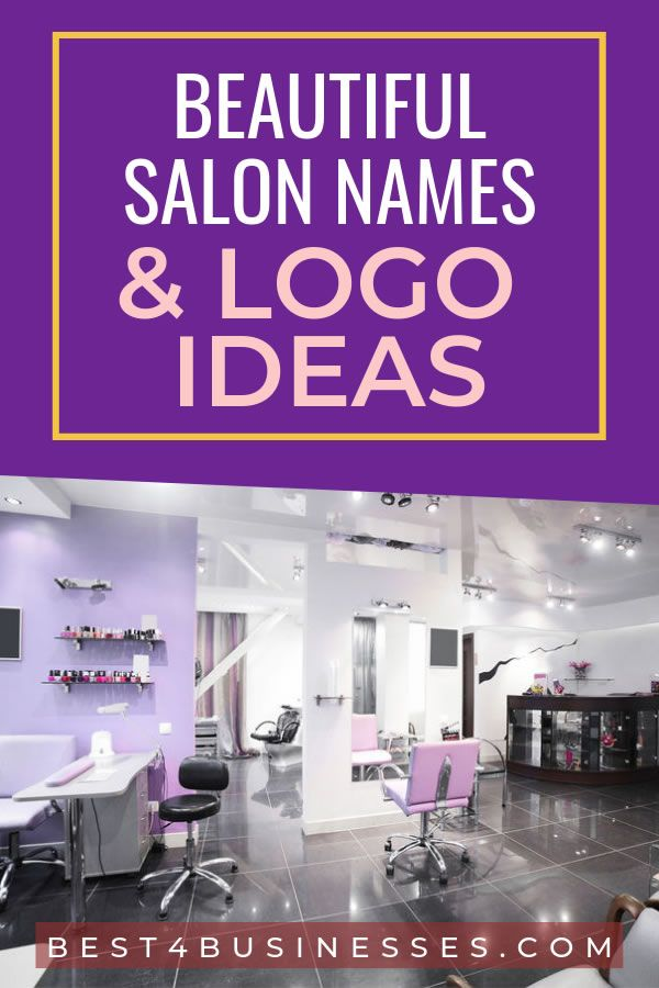 Beauty Salon Name Ideas 2019 Naturalsalons