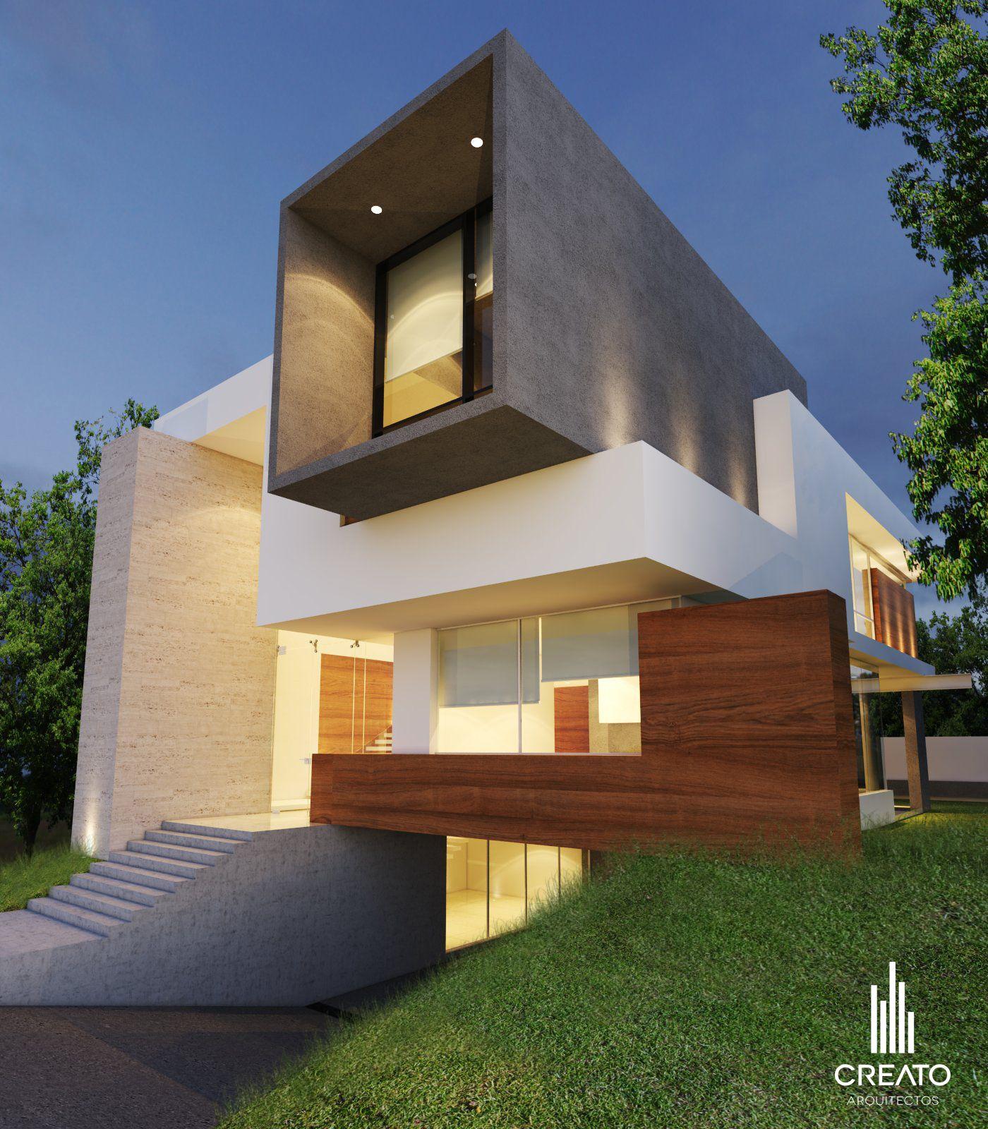 Conozcamos este hogar mexicano y su dise o vibrante y original arquitectos fachadas y casas - Arquitectos casas modernas ...