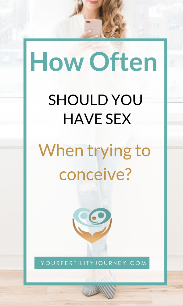 How often to have sex when ttc