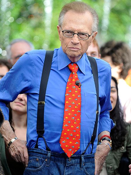 Larry king suspenders