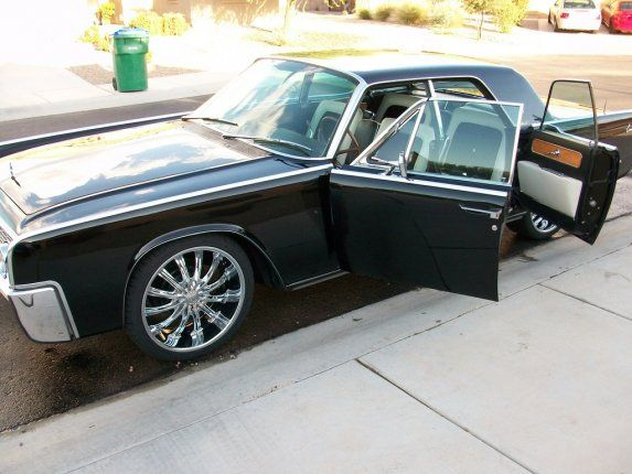 1969 Lincoln Continental With Suicide Doors. The Ultimate Party Car.